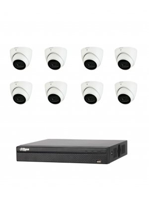 Dahua 5MP 8 Channel Lite Camera Kit
