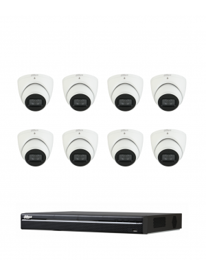 Dahua 6MP 8 Channel Premium Camera Kit
